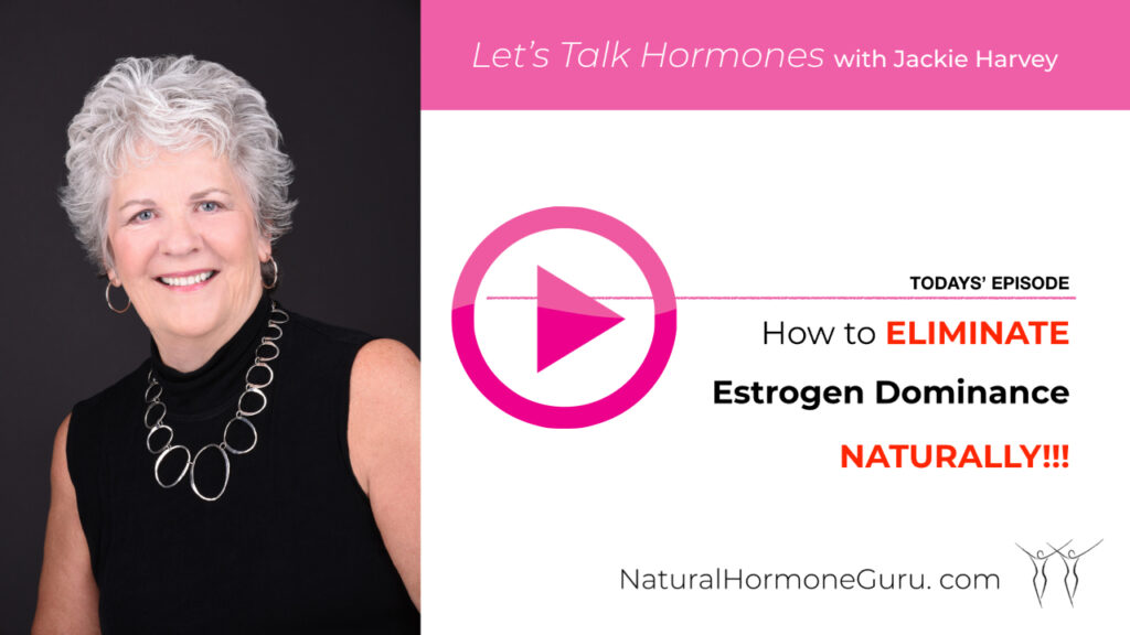 estrogen dominance video graphic